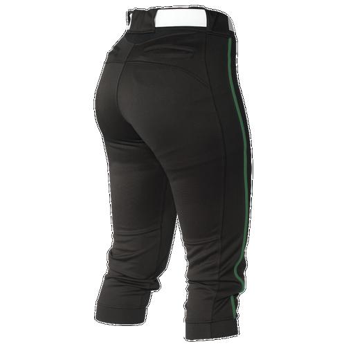 Easton Mako Piped Softball Pants - Women's - Softball - Clothing -  Black/Dark Green