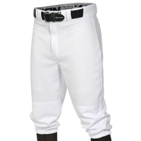 Easton Pro + Knicker Baseball Pants - Men's - All White / White