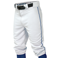 Easton Pro + Knicker Piped Baseball Pants - Boys' Grade School - White / Blue