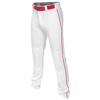 Easton Mako 2 Piped Baseball Pants - Boys' Grade School - White / Red