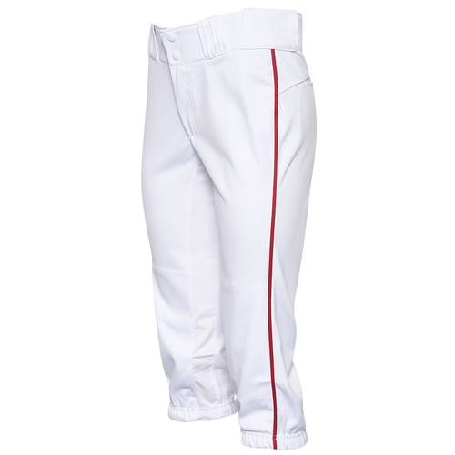 Easton Prowess Piped Softball Pants - Women's Softball - White/Red 167122WR