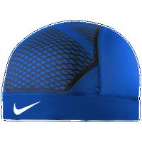 00c0df2477600 Nike Pro Hypercool Vapor Skull Cap 4.0 - Adult - Blue   Black