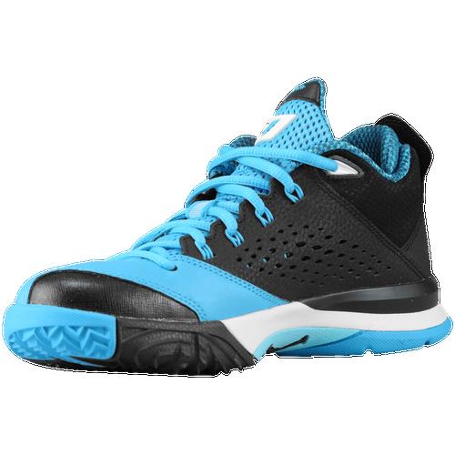 3019cb115d72 Jordan CP3.VII Boys Grade School Basketball Shoes Black White Dark Powder  Blue Polarized Blue cheap