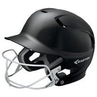 Easton Z5 Solid Junior Batting Helmet - Grade School - All Black / Black