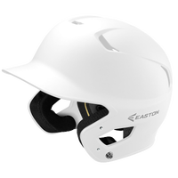 Easton Z5 Grip Senior Batting Helmet - All White / White