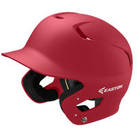 Easton Z5 Grip Senior Batting Helmet - Red / Red