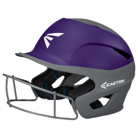 Easton Prowess Two-Tone FP Helmet with Mask - Women's - Grey / Purple