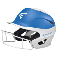 Easton Prowess Two-Tone FP Helmet with Mask - Women's - White / Blue