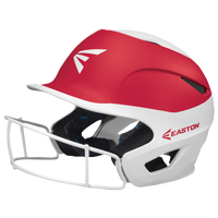 Easton Prowess Two-Tone FP Helmet with Mask - Women's - White / Red