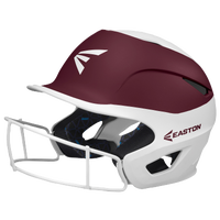 Easton Prowess Two-Tone FP Helmet with Mask - Women's - White / Maroon