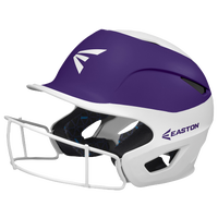 Easton Prowess Two-Tone FP Helmet with Mask - Women's - White / Purple