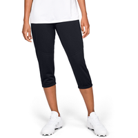 Under Armour Cropped Pants - Women's - All Black / Black