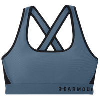 Under Armour Armour Mid Crossback Bra - Women's - Blue / Navy