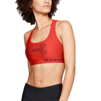 Under Armour Armour Mid Crossback Bra - Women's - Red