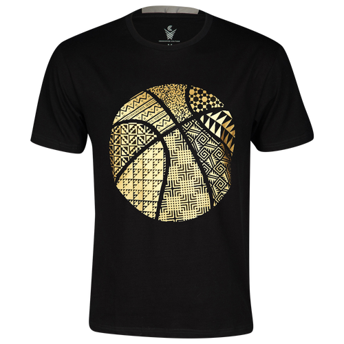 Crossover Culture Weave T-Shirt - Men's Basketball - Black 17112010