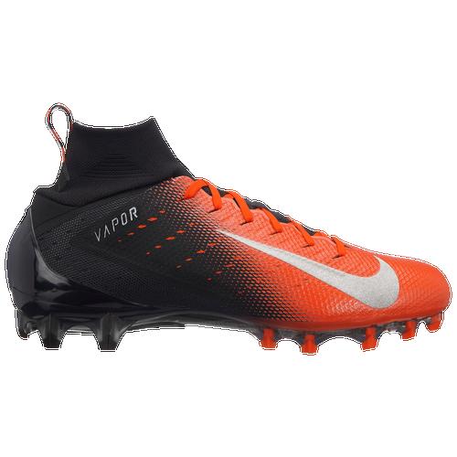Nike Vapor Untouchable Pro 3 - Men's - Football - Shoes - Black/Metallic  Silver/Rush Orange/Black