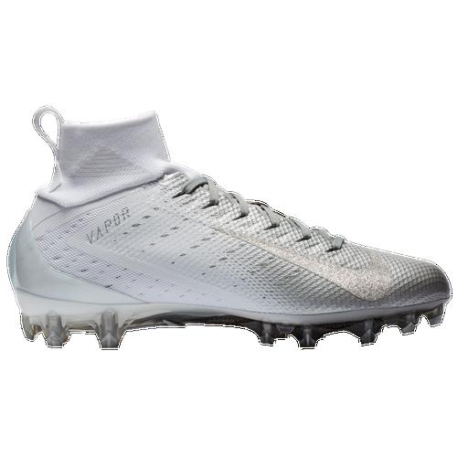 nike vapor untouchable 3 pro mens football shoes whitemetallic dark greymetallic silver