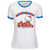 Converse X Hello Kitty S/S Ringer T-Shirt - Women's - White