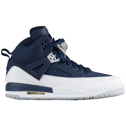 ca2d1396a023 ... Nike Available Eastbay Available  Jordan Spizike - Boys Grade School -  Basketball - Shoes - Midnight Navy Metallic Silver White ...