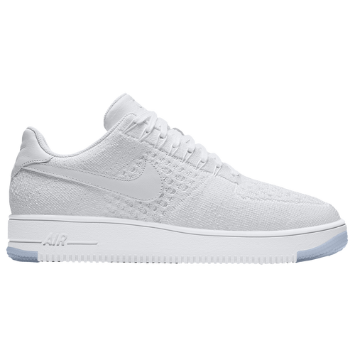 buy popular 55319 4aeec ... low price nike air force 1 ultra flyknit low mens casual shoes white  white ice 15b70