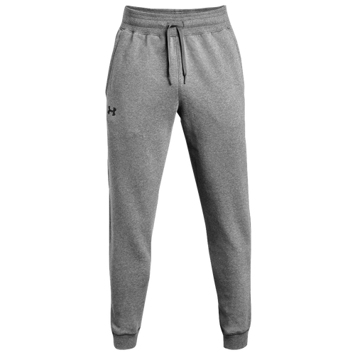 2fe6ae777318 Under Armour Team Hustle Fleece Jogger Pants - Men s - For All Sports -  Clothing - True Grey Heather Black