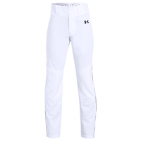 Under Armour Utility Relaxed Piped Pants - Boys' Grade School - White