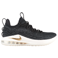 Nike LeBron 15 Low - Men's -  Lebron James - Black / Gold