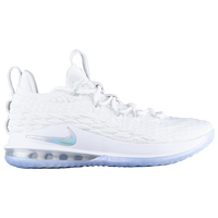 Nike LeBron 15 Low - Men's -  Lebron James - White / Grey