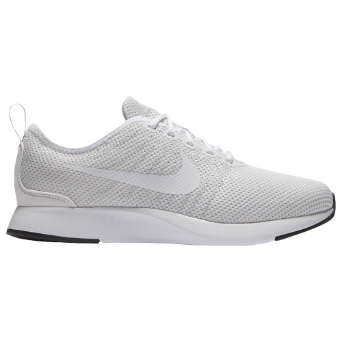 Nike Dualtone Racer - Boys' Grade School - Casual - Shoes - White/White/Pure  Platinum/Black