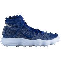 Nike React Hyperdunk 2017 Flyknit - Men's - Blue / Grey