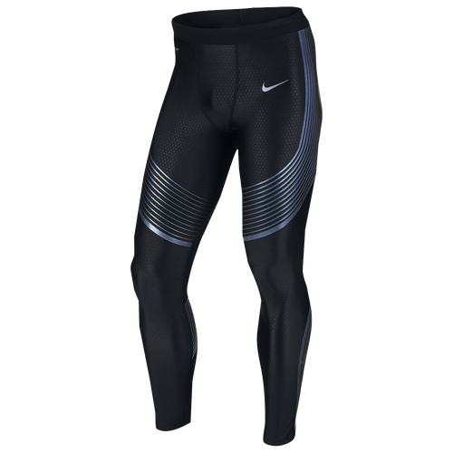 Nike Dri-FIT Run Speed Tights - Men's Running - Black/Iridescent/Reflective Silver 17750025