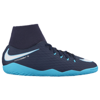 Nike HypervenomX Phelon III Dynamic Fit IC - Men's - Navy / White