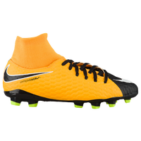 Nike Hypervenom Phelon III Dynamic Fit FG - Boys' Grade School - Orange / Black
