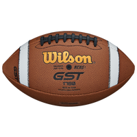 Wilson GST Official Composite Football - Men's - Brown / White