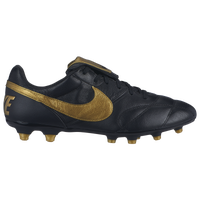 Nike The Premier II FG - Men's - Black / Gold