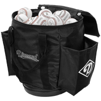 Diamond Ball Bag - Black / White