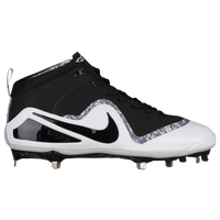 Nike Force Zoom Trout 4 - Men's -  Mike Trout - Black / White