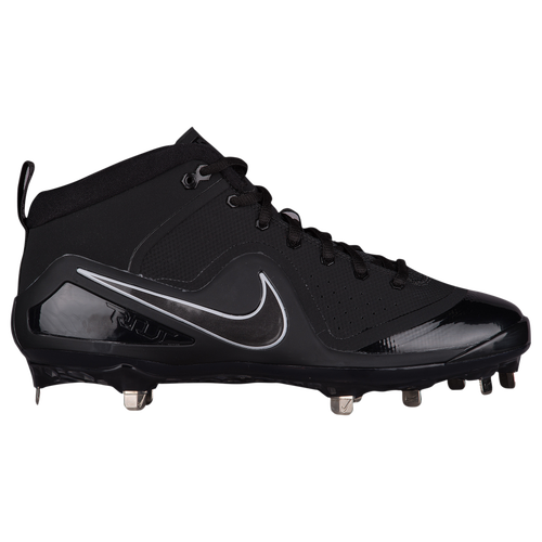 Nike Force Zoom Trout 4 - Men\u0027s - Mike Trout - Black / Grey