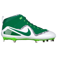 Nike Force Zoom Trout 4 - Men's -  Mike Trout - Dark Green / White