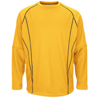 Majestic Practice Pullover - Men's - Gold / Black