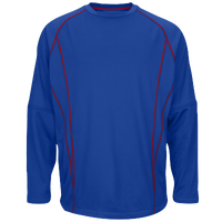 Majestic Practice Pullover - Men's - Blue / Red