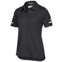 adidas Team Iconic Coaches Polo - Women's - Black / White