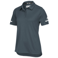 adidas Team Iconic Coaches Polo - Women's - Grey / White