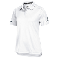 adidas Team Iconic Coaches Polo - Women's - White / Grey