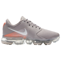 Nike VaporMax - Girls' Grade School - Grey / Pink