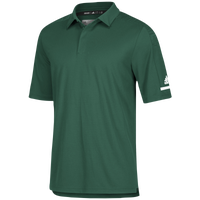 adidas Team Iconic Coaches Polo - Men's - Dark Green / White