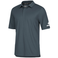 adidas Team Iconic Coaches Polo - Men's - Grey / White