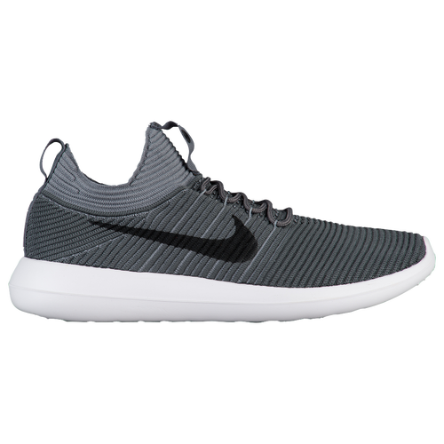 Nike Roshe Two Flyknit V2 - Men's - Casual - Shoes - Dark Grey/Black/Cool  Grey/White