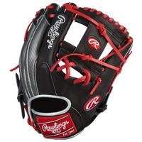 Rawlings Heart of the Hide Hyper Shell Glove - Black / Grey