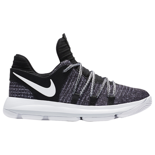 Nike KD 10 - Boys\u0027 Preschool - Basketball - Shoes - Kevin Durant -  Black/White